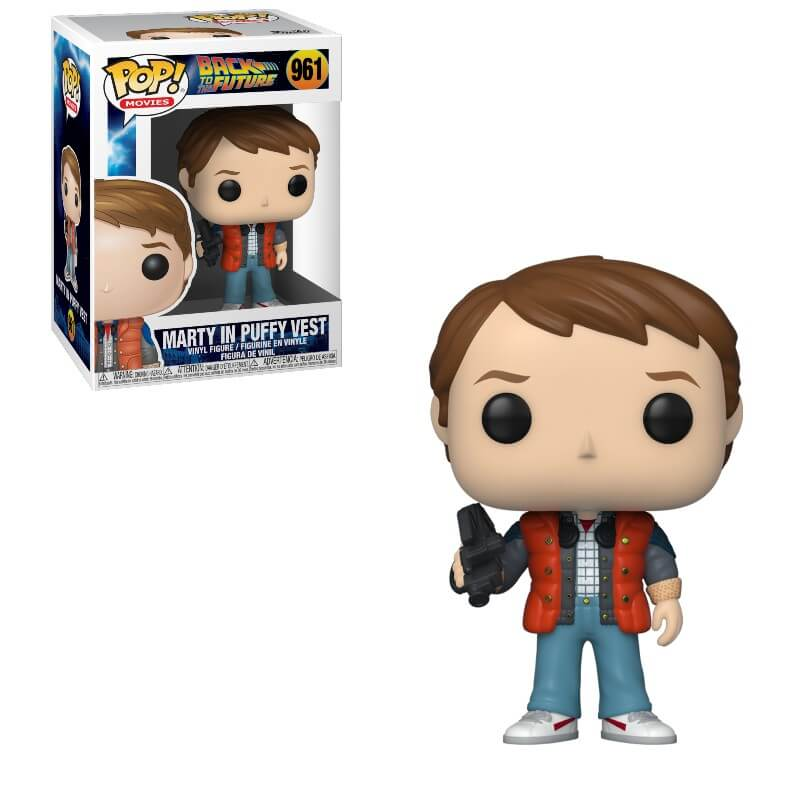 Funko Pop Retour vers le Future Marty in Puffy Vest 961
