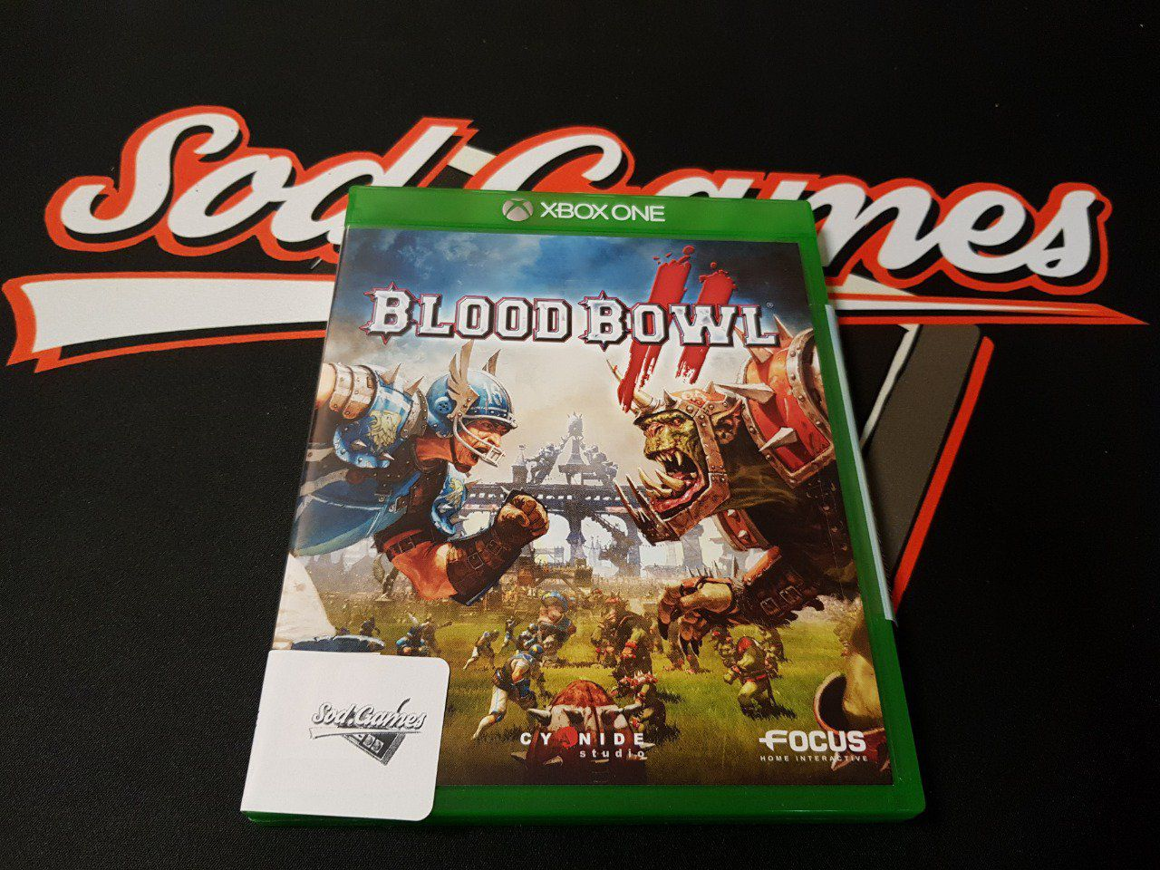Jeu Xbox One Bloodbowl Occasion FR