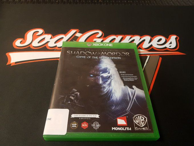 Jeu XBOX ONE Shadow of Mordor Game of the Year Occasion FR