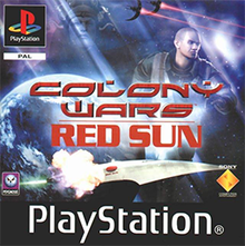 Jeu PS1 Colony Wars Red Sun Occasion FR