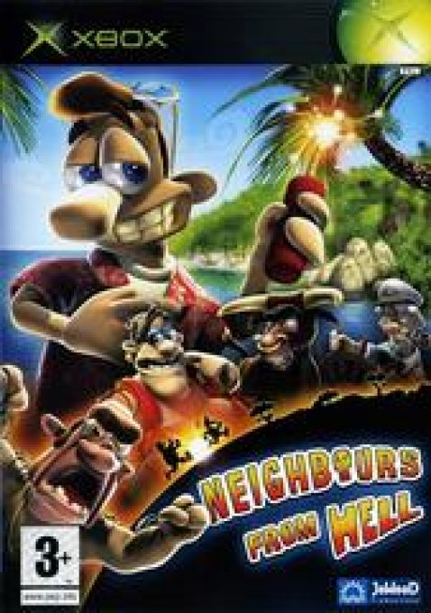 Jeu XBOX Neighbours From Hell