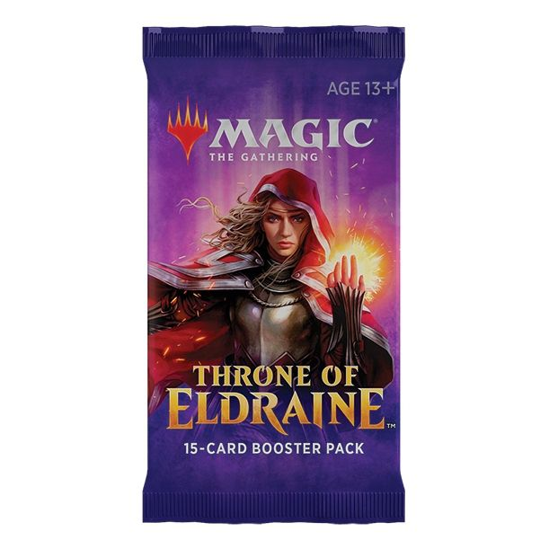 3X Booster Throne of Eldraine Anglais