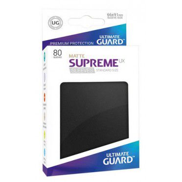 Sleeves - Ultimate Guard 80  deck Protector supreme Matte - Couleur Variable