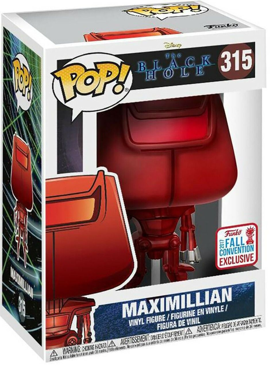 Funko Pop Disney The black hole convention Exclusive Maximillian