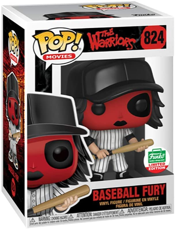 Funko Pop The warriors funko shop exclusive Baseball Fury Red version 824
