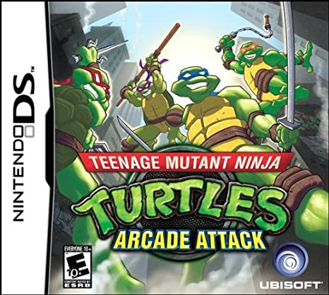 Teenage Mutant Ninja Turtles Arcade Attack Occasion sur DS