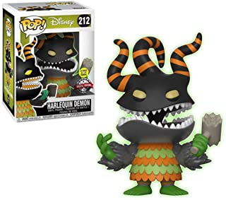 Funko POP NBX  Special Edition NBX nightmare before Christmas Harlequin demon glow in the dark