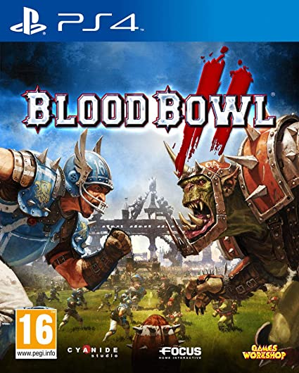 Jeu PS4 Bloodbowl II (occasion)