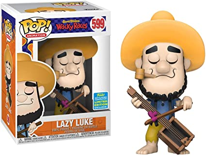 Funko Pop Wacky Races - Les fous du volant Convention Exclusive Lazy Luke