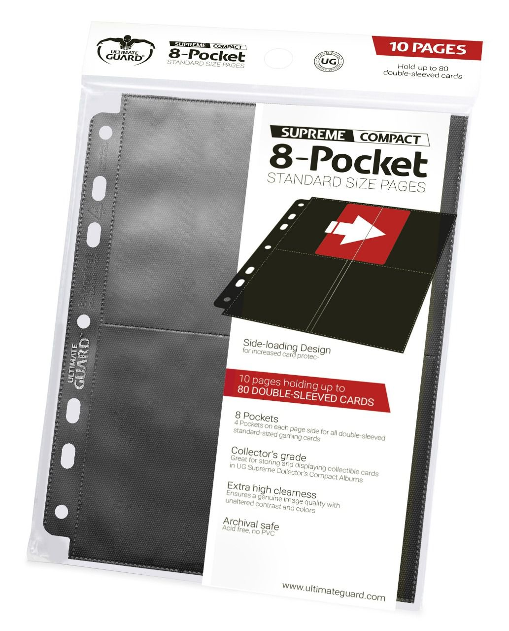 Ultimate Guard Supreme Compact 8-Pocket Standard Size Pages