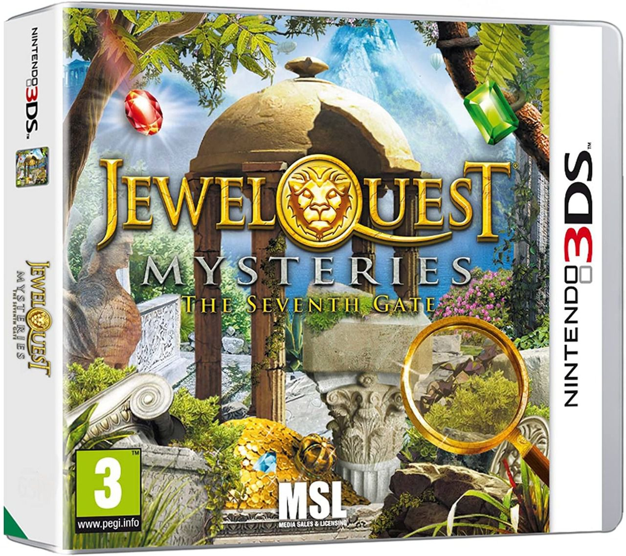 Jewel Quest Mysteries III la septième porte Occasion sur 3DS