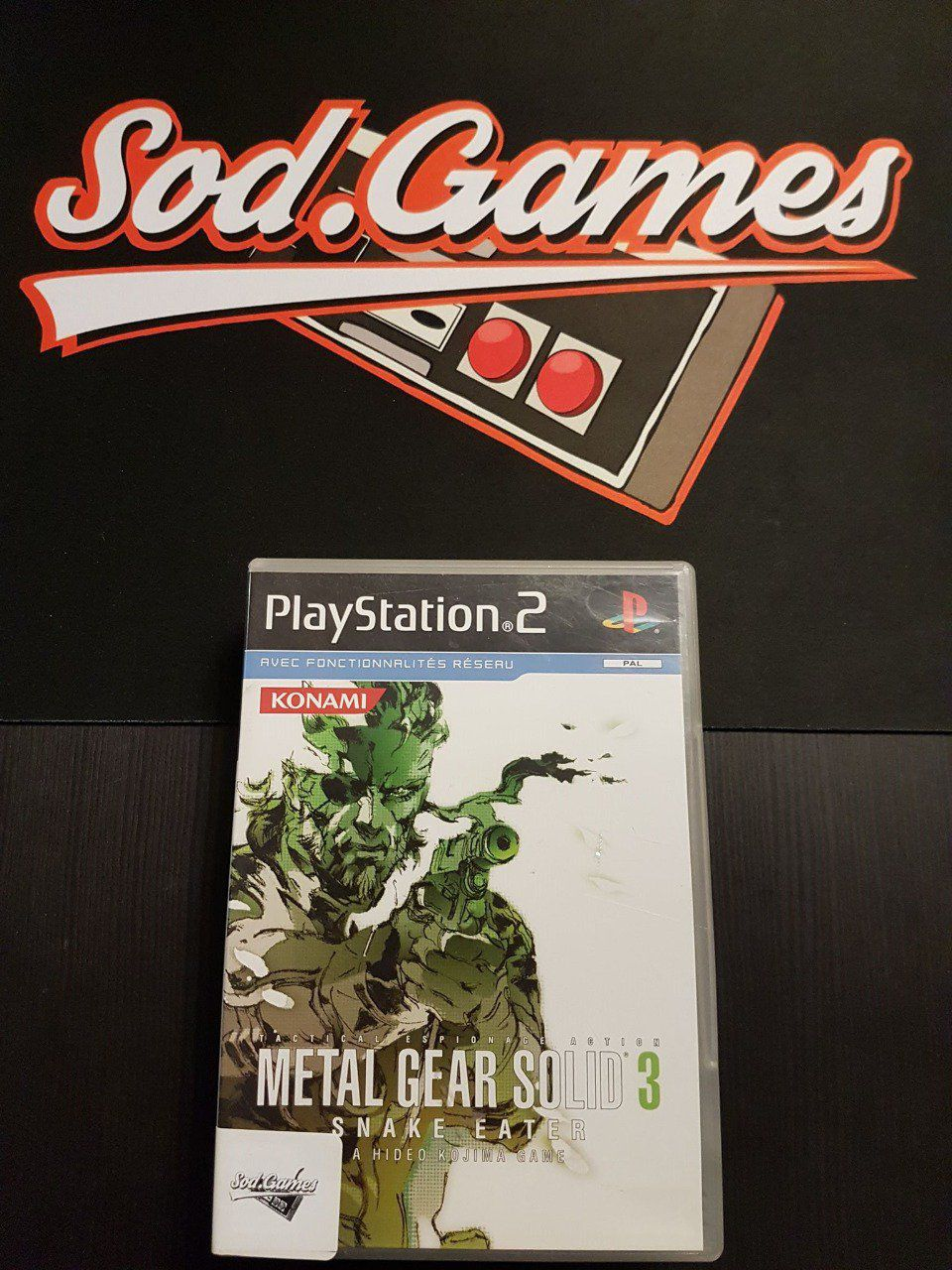 Jeu PS2 Metal Gear Solid 3 : snake eater FR