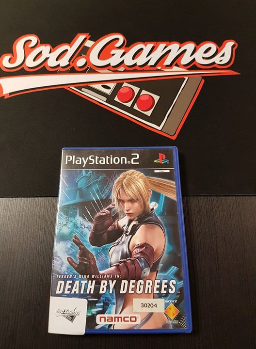 Jeu PS2 Death by degrees FR