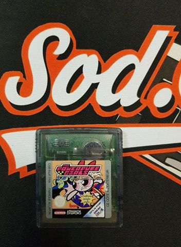 Jeu Game Boy Color The PowerPuff Girls
