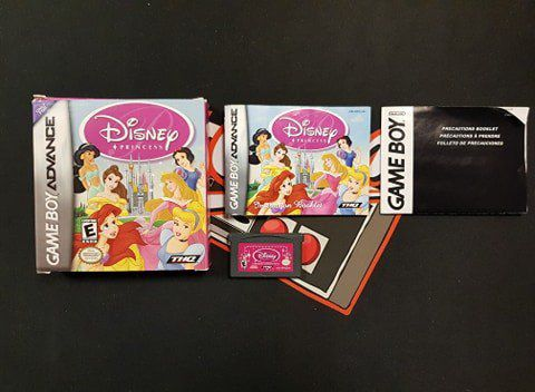 Jeu Game Boy Advance Disney Princess