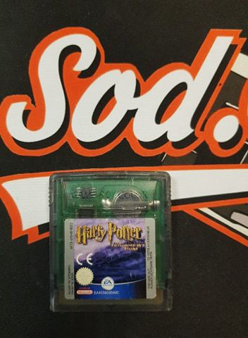 Jeu Game Boy Color Harry Potter And The Philosopher's Stone