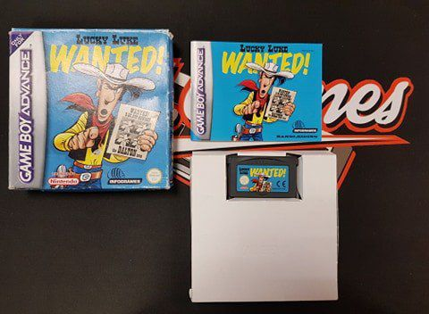 Jeu Game Boy Advance Lucky Luke Wanted !