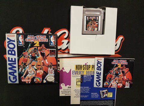 Jeu Gameboy en boite All-Star Challenge 2