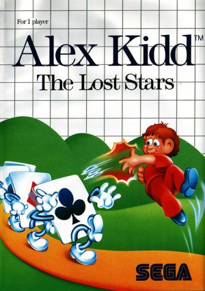 Jeu Master System Alex Kidd The Lost Stars Occasion Multi langues