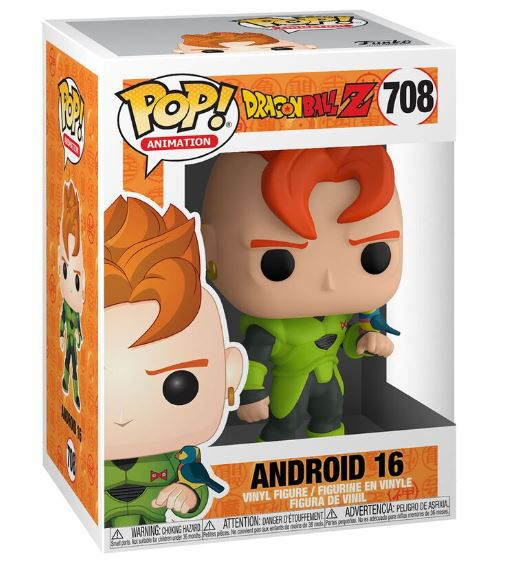 Funko Pop  dragon ball Android 16 708