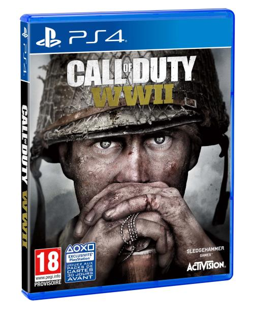 Jeu PS4 Call of Duty WWII (occasion)