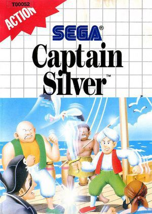 Jeu Master System Captain Silver Occasion Multi langues