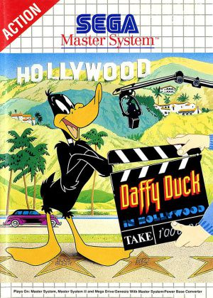 Jeu Master System Daffy Duck in Hollywood Occasion Multi langues