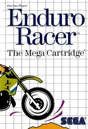Jeu Master System Enduro Racer Occasion Multi langues