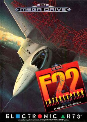 Mega Drive Pal F-22 Interceptor Occasion