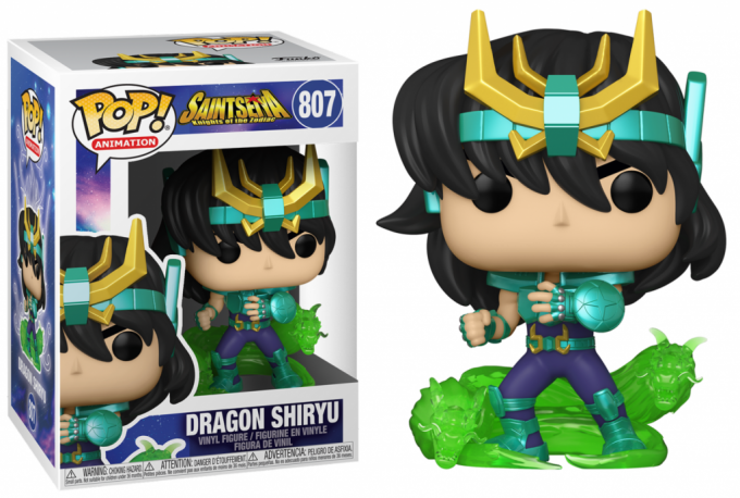 SAINT SEIYA - BOBBLE HEAD POP N° 807 - DRAGON SHIRYU