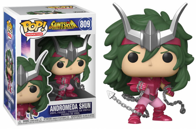 SAINT SEIYA - BOBBLE HEAD POP N° 809 - ANDROMEDA SHUN