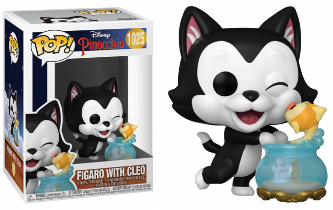 PINOCCHIO - BOBBLE HEAD POP N° 1025 - FIGARO KISSING CLEO