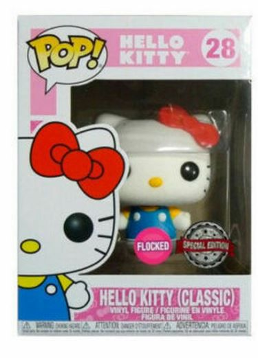 Funko Pop Hello Kitty Limited Flocked