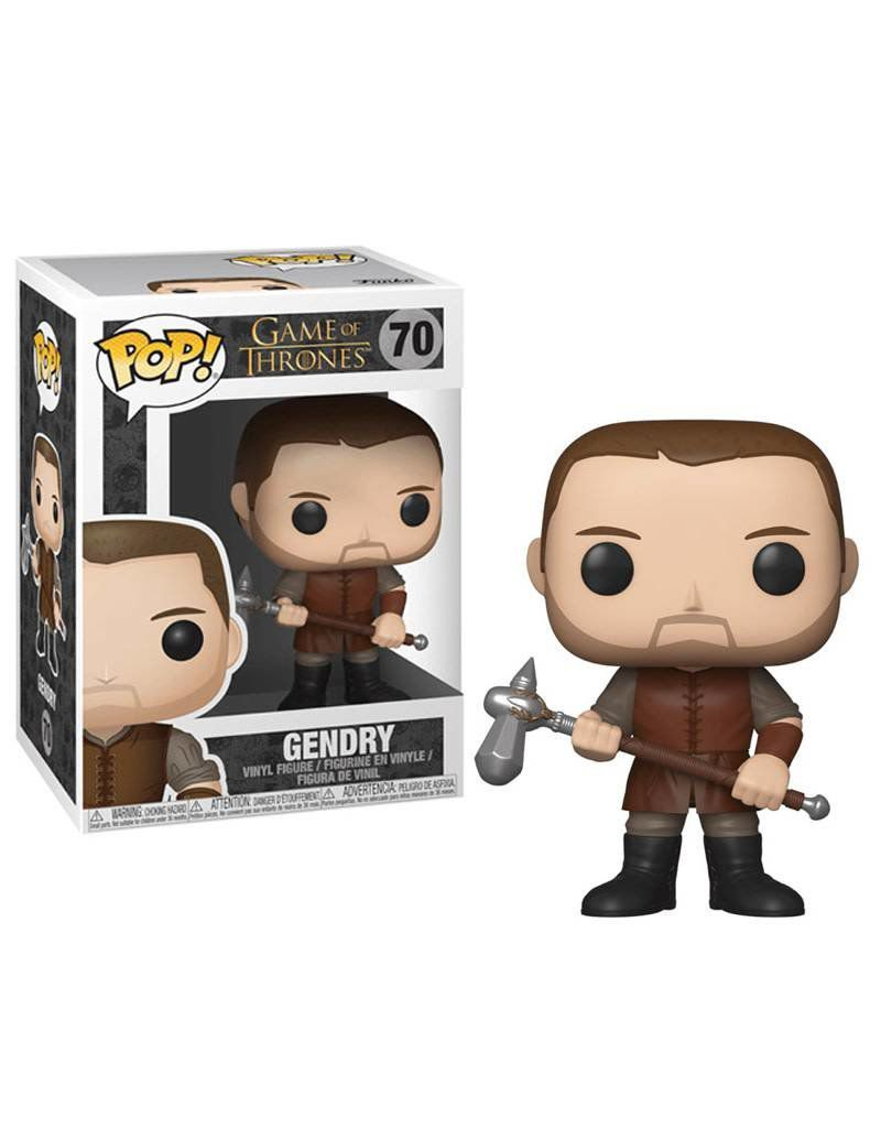 Funko Pop Game of Thrones Gendry