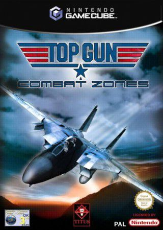 Jeu GameCube Top gun combat zones Occasion FR