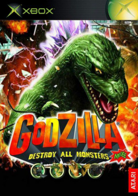 Jeu XBOX Occasion Multi Langues avec livret Godzilla Destroy All Monsters