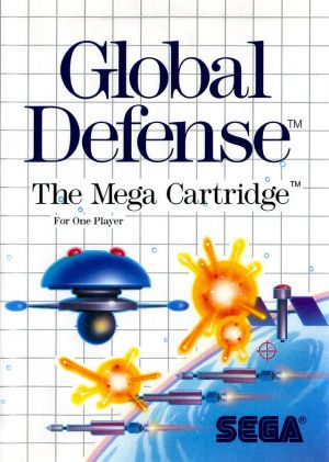 Jeu Master System Global Defense Occasion Multi langues