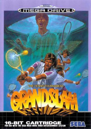 Jeu Mega Drive Pal Grand Slam The Tennis Tournament Occasion