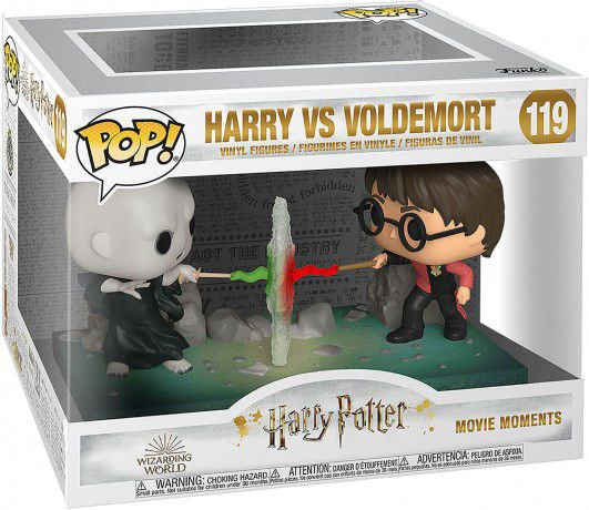 Funko Pop Movie Moments Voldemort vs Harry Potter