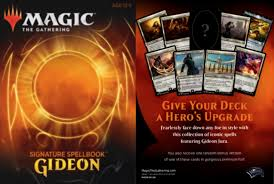 Signature Spellbook Gideon Magic The Gathering Anglais