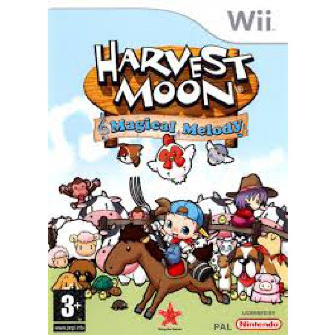 Harvest Moon : Magical Melody sur Wii Occasion