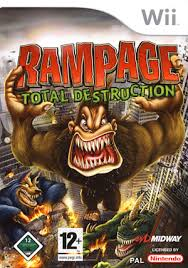 Rampage : Total Destruction Wii Occasion