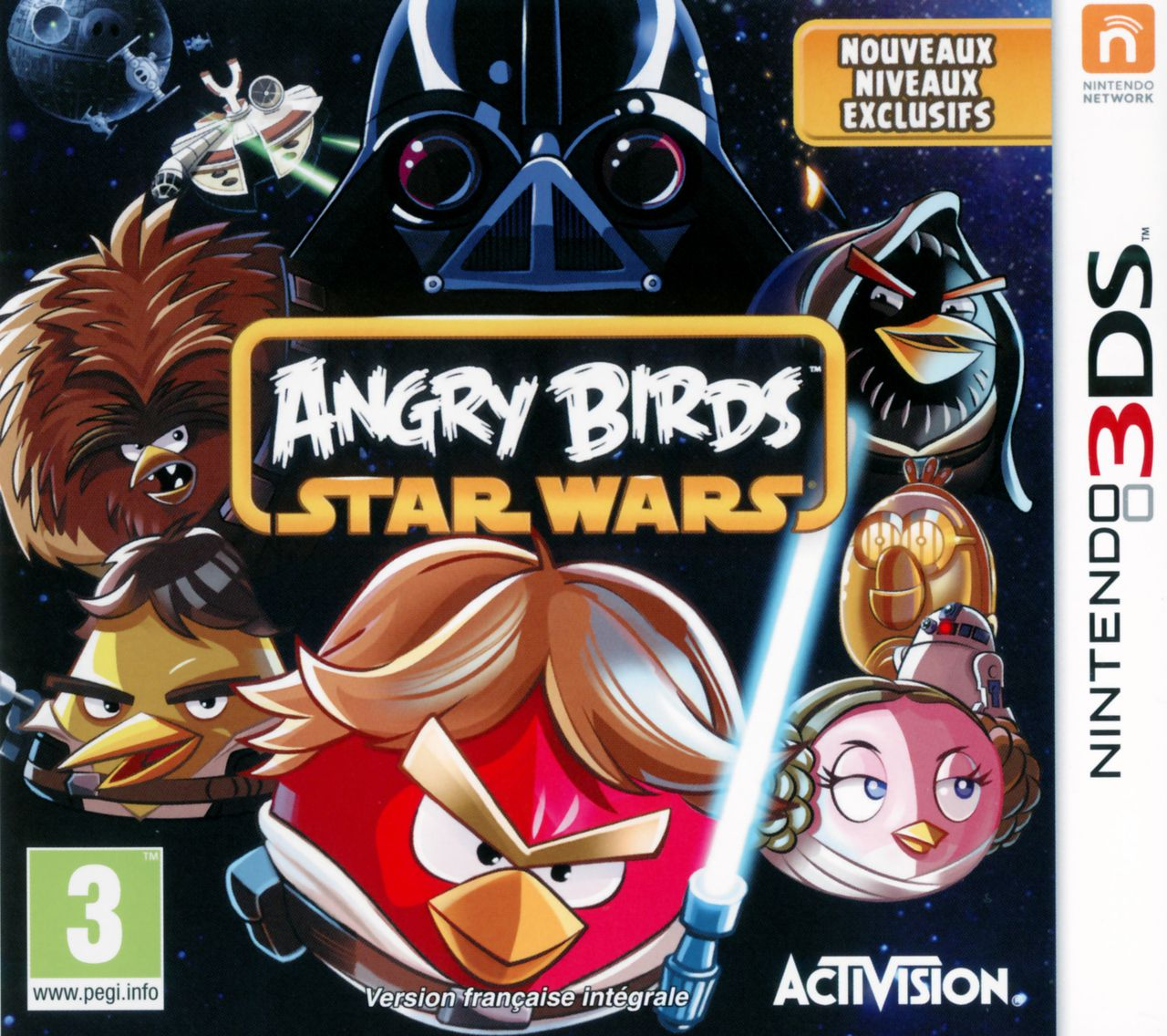 Jeu 3DS Angry Birds Star Wars  Occasion
