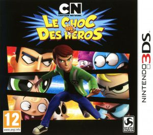 Cartoon Network Le Choc Des Héros Occasion sur 3DS