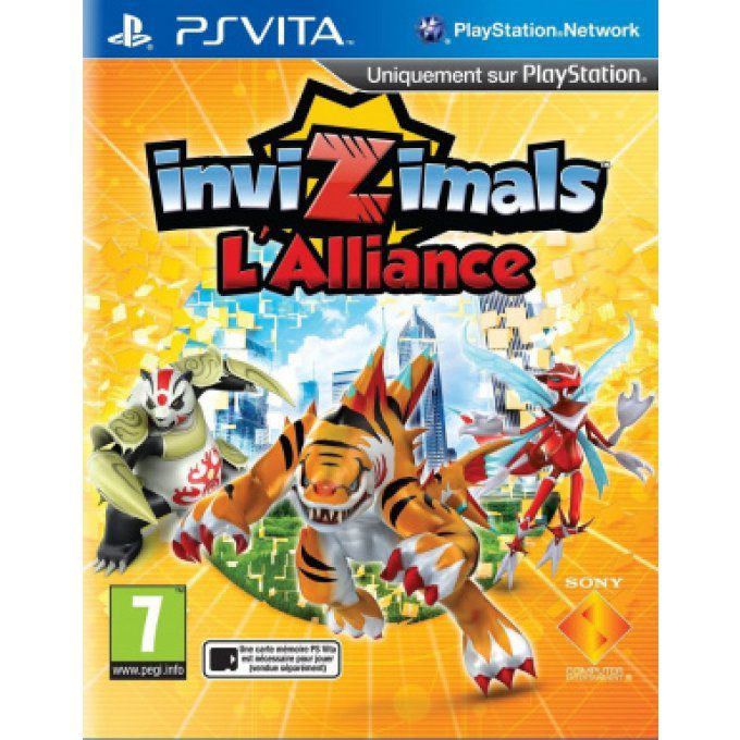 Jeux PS Vita Invizimals L'Alliance Occasion
