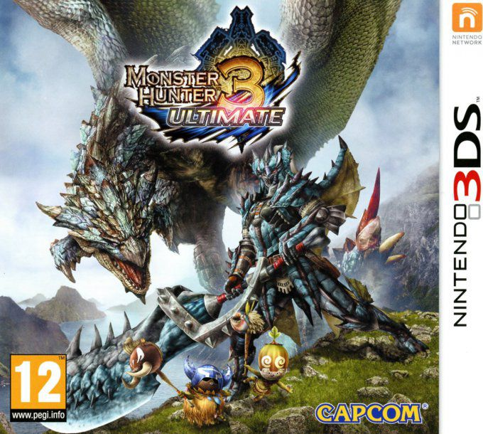 Jeu 3DS Monster Hunter 3 Ultimate 3ds occasion