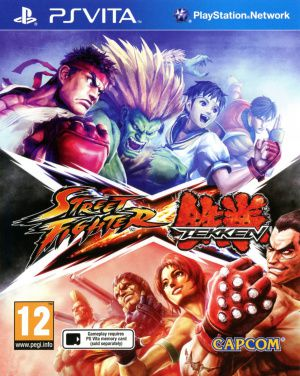 Jeux PS Vita Street Fighter X Tekken Occasion