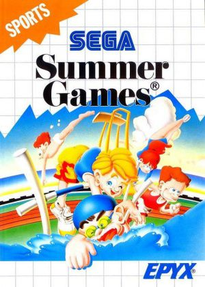 Jeu Master System Summer Games Occasion Multi langues