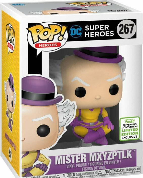 Funko Pop MR MXYZPTLK Convention Exclusive