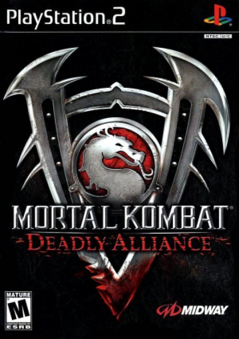 Jeu PS2 Mortal Kombat Deadly Alliance